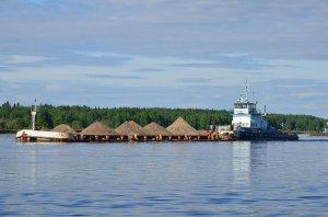 Перевозка внутренним водным транспортом грузов